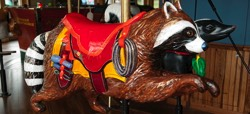 Adirondack Carousel and stuff to do for kids in Adirondacks
