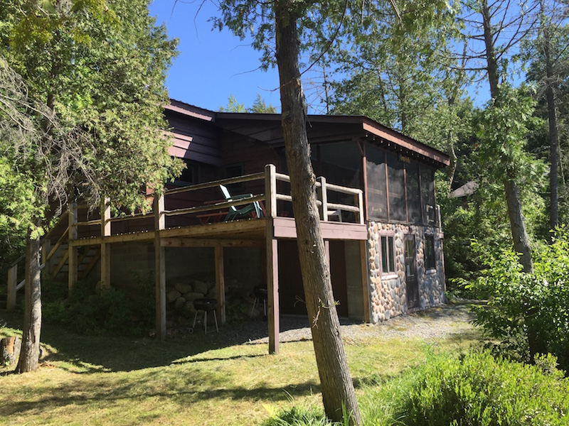 Camp Adelle An Adirondack Waterfront Cabin For Rent In